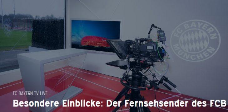 FC Bayern startet seinen eigenen TV Sender